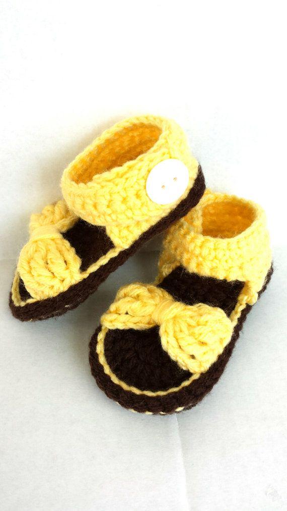 Hey, I found this really awesome Etsy listing at https://www.etsy.com/listing/228897304/crochet-baby-sandalbaby-girl-sandalbow