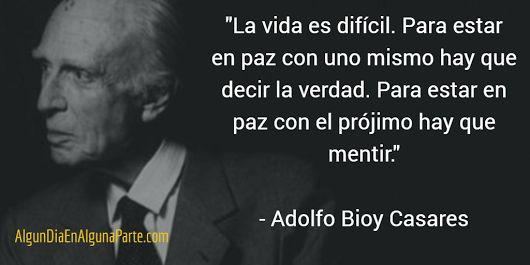 El 8 de marzo de 1999 #TalDíaComoHoy falleció el escritor argentino Adolfo Bioy Casares, considerado el maestro del cuento y de la literatura fantástica por la impecable construcción de sus relatos y la claridad de su lenguaje.