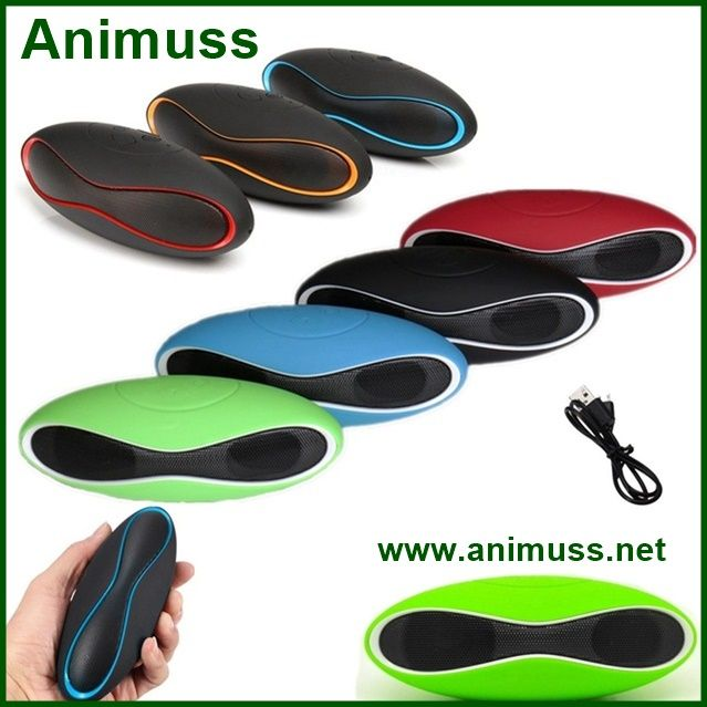 Waterproof Gift U Disk TF Mini X6 rugby music Wireless Bluetooth Speaker for iPhone /Samsung