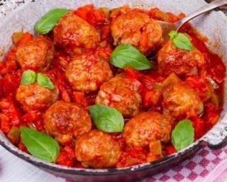Boulettes de bœuf allégées à la tomate et au parmesan