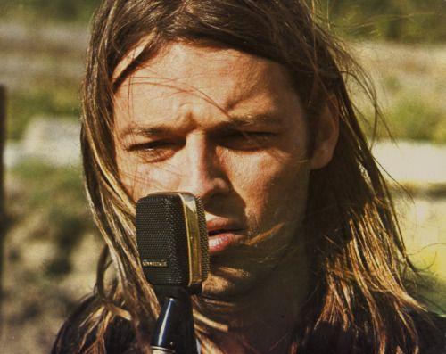 David Gilmour of Pink Floyd, Pompeii