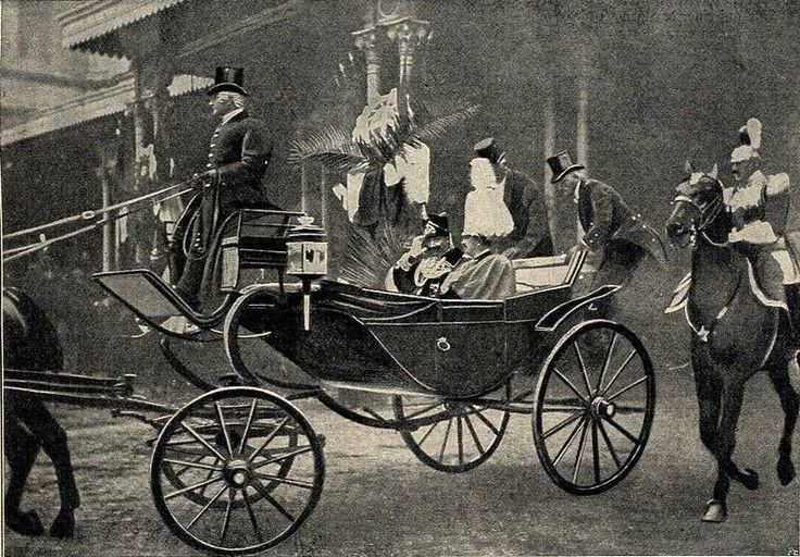 König Victor Emanuel III und Kaiser Wilhelm II