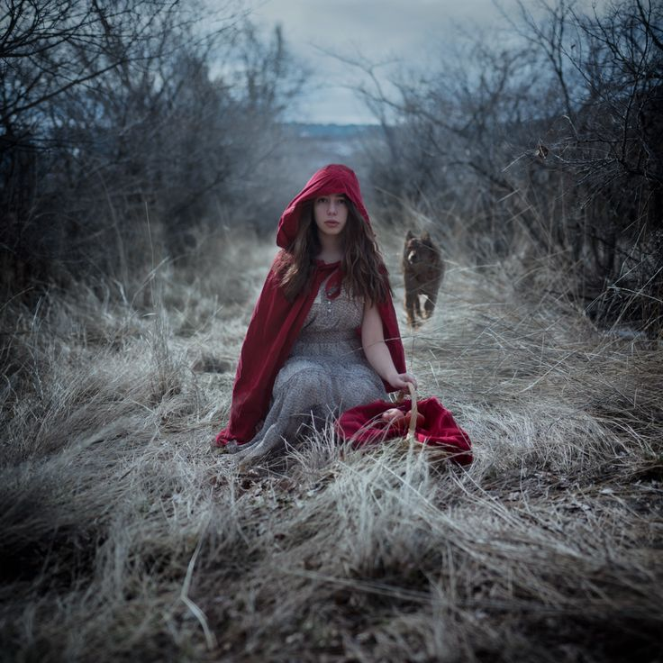 red's in the hood | Oblivion, Another take on Little Red Riding Hood by Korinne Bisig