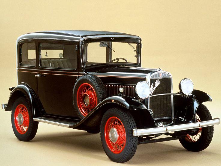 Fiat 508 Balilla 3-Speed '1932–34 Another fascist car.