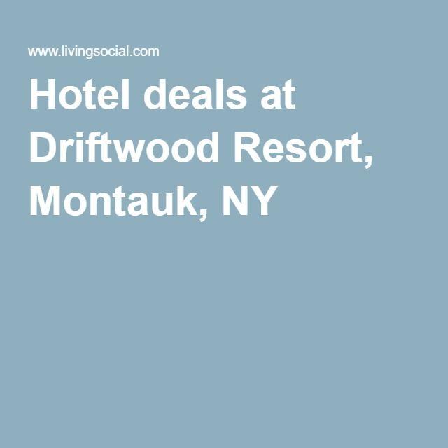 Hotel deals at Driftwood Resort, Montauk, NY