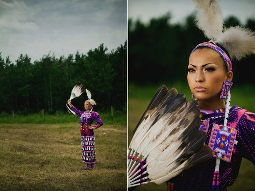 Chayla Delorme Maracle, Jingle [Dress] Dancer at Saddle Lake Powwow By Claudine Gladue Photography.