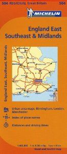South East England/The Midlands/East Anglia (Maps/Regional (Michelin)) by Michelin Travel & Lifestyle. Save 20 Off!. $9.56. Series - Maps/Regional (Michelin) (Book 504). Publisher: Michelin Maps and Guides (Firm); 10th Edition edition (January 1, 2012). Publication: January 1, 2012