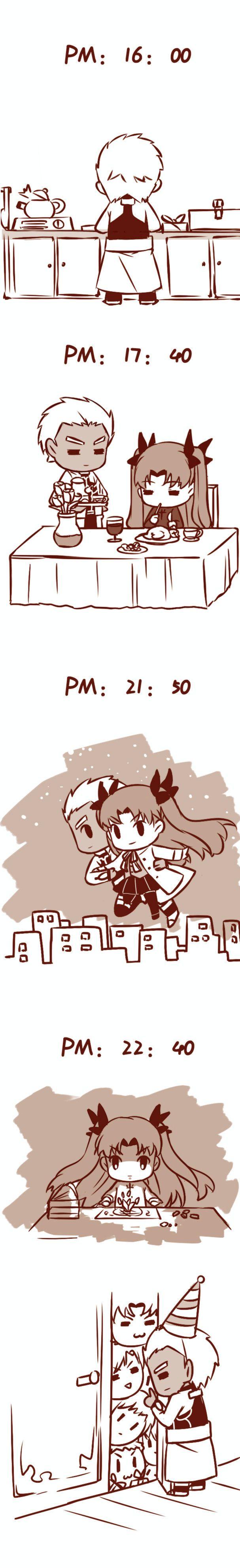 Fate/ Stay Night Archer x Rin Doujinshi - Fate/ Stay Night Archer x Rin Doujinshi Chap 3
