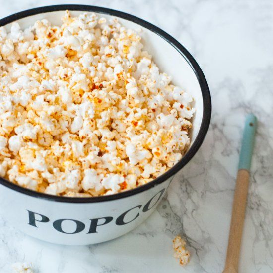 Spice up your snack life with this red coconut curry popcorn, just in ...