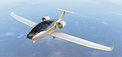 VoltAir plans to fly the four-seat  E-fan 4.0 aircraft by the end of 2019.  CREDIT: Airbus Group Concept