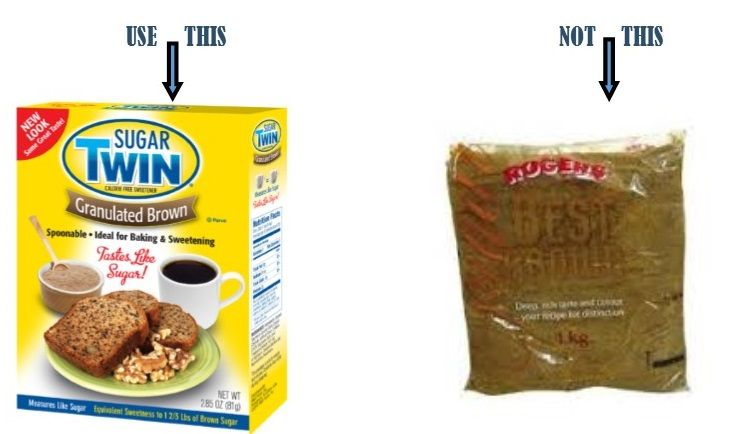 Brown Sugar:Use This,Not This. #weightloss #diet #healthyliving