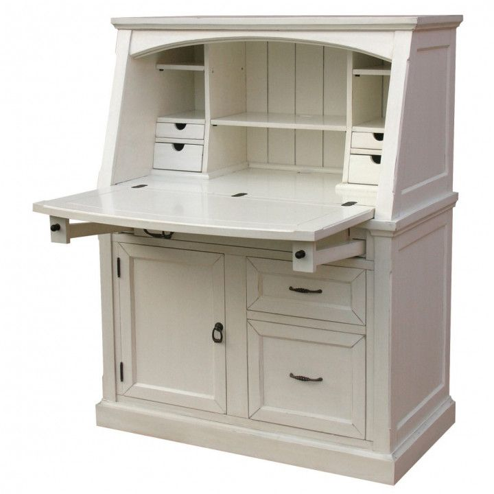 Small Secretary Desk With File Drawer Organizing Ideas For Desk