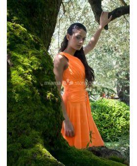 KAREN - Cooktail dresses Graduation dresses Cheap Princess Knee length Chiffon One shoulder Occasion dress