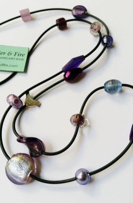 Purple Birdy $35 by Salt Water & Fire