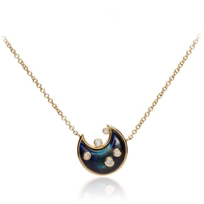 Colar Blue Moon