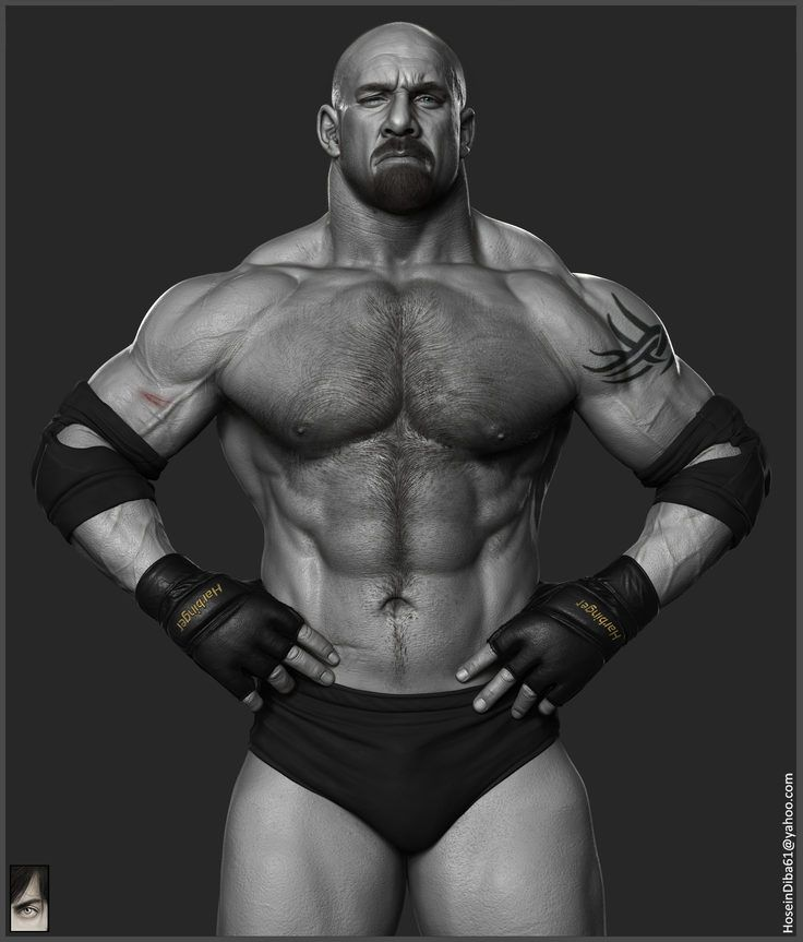 Goldberg - WWE by Hossein Diba