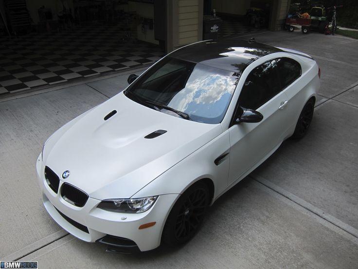 """""""Frozen Edition"""" BMW M3 - Frozen White"""