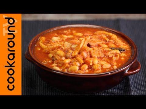 Trippa con fagioli di Rosalba | Ricetta rustica - YouTube