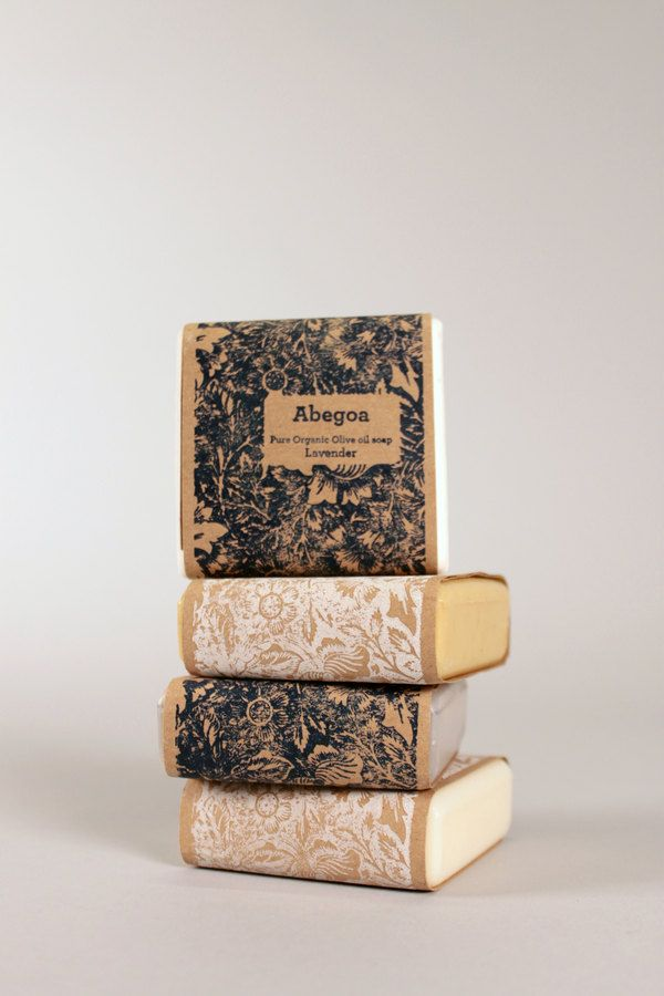 Soap Packaging by Jessica Y. Wen, via Behance