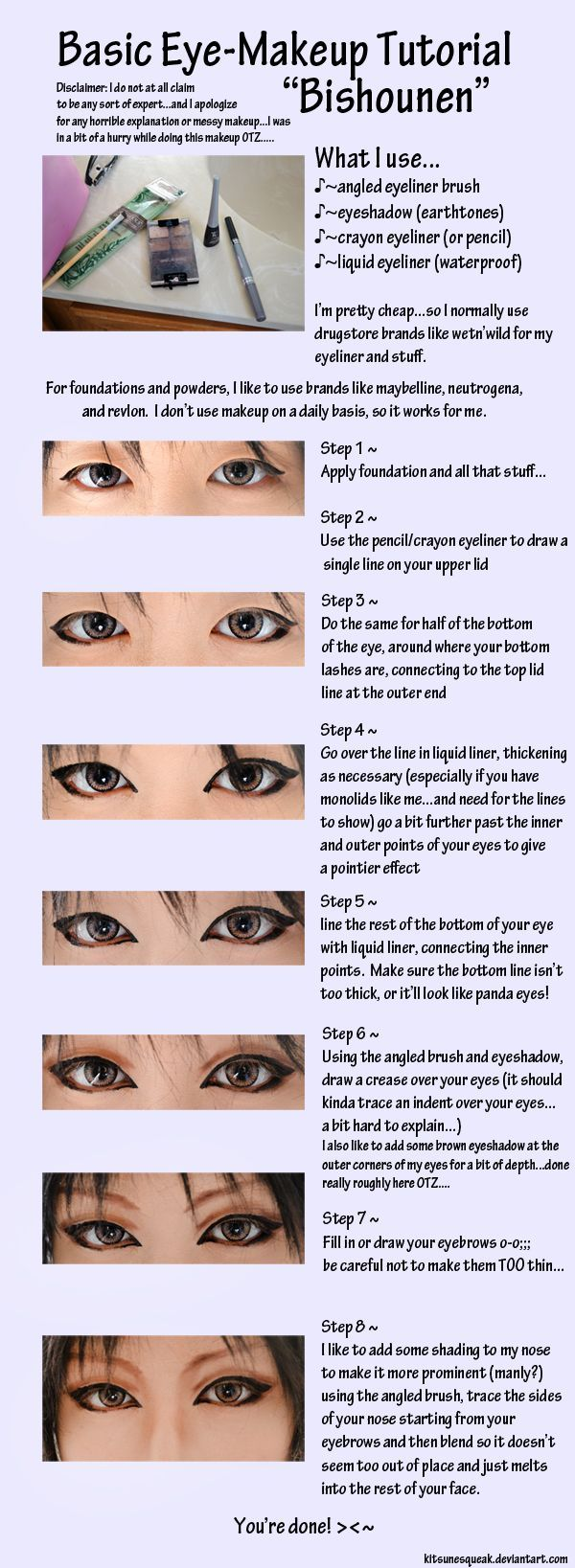 Makeup Ideas 2017/ 2018  - cosplay makeup tutorial | eye_makeup_tutorial___pretty_boy_by_kitsunesqueak-d4my...  https://flashmode.me/beauty/make-up/makeup-ideas-2017-2018-cosplay-makeup-tutorial-eye_makeup_tutorial___pretty_boy_by_kitsunesqueak-d4my-3/  , #MakeUp