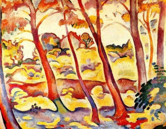 Пейзаж в Ла-Сьота - Жорж Брак