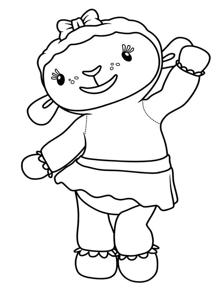 Картинки с Доктором Плюшевой для малышей (с изображениями ...