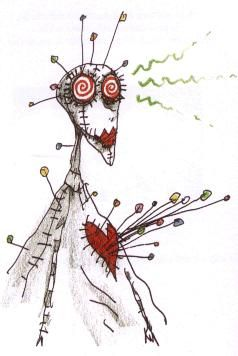 Voodoo Girl, From the Melancholy Death of Oyster Boy and other stories, by Tim Burton