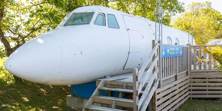The Airplane House in Saint-Michel-Chef-Chef, France