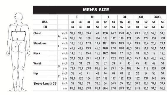 Pants Conversion Denim Sizes Conversion