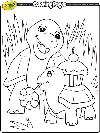 mothers day coloring page crayola