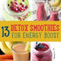 Detox smoothie is the craze now. Whether you want to start living healthy, get more energy or lose some weight, this is the perfect drink that you can take. If you're looking for healthy smoothie recipes to try a smoothie diet, this is the list you can refer to.