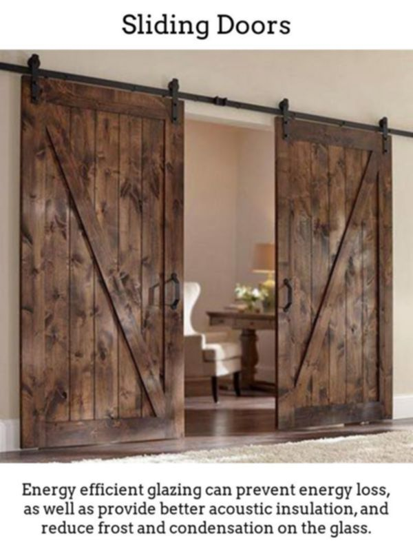 Sliding Doors Achieve Stylish Radiant Spaces By Having Thermally Insulated Sliding And Collaps Interior Barn Doors Diy Wood Doors Interior Barn Doors Sliding
