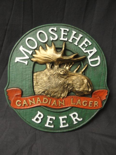 Moosehead Beer Sign Beer Amp Liquor Signs Pinterest