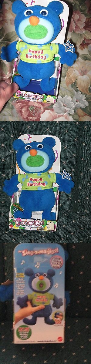Other Fisher-Price 1963-Now 374: Sing A Ma Jig Bear Dolls - Sings Happy Birthday To You - By Mattel New -> BUY IT NOW ONLY: $35 on eBay!