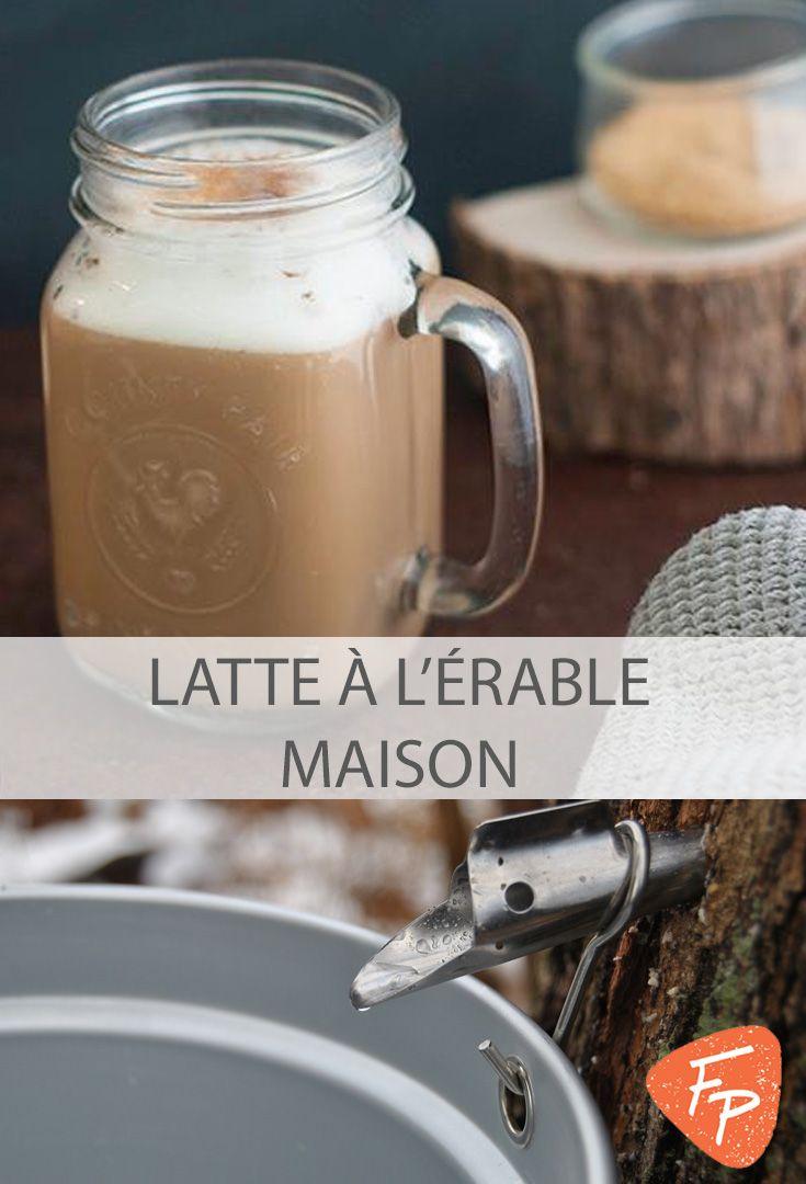Un délicieux latte comme au café du coin, mais facile à faire à la maison! #coffee