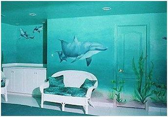 Under the Sea theme bedroom Decorating Ideas