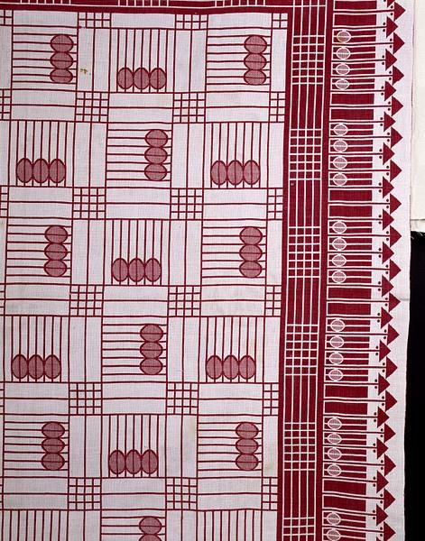 Josef Hoffmann - Tablecloth, ca. 1905