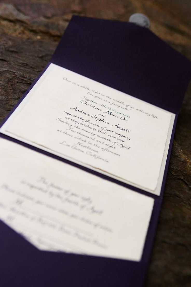 top wedding invitations016%0A This is a wonderfully subtle way to fit a theme into our wedding  can you