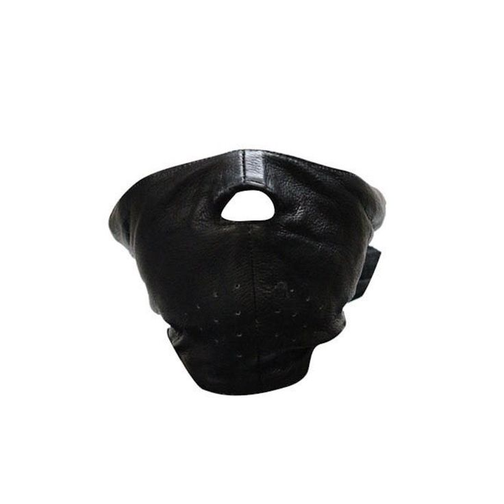 Short Leather Motorcycle Face Mask With Fleece Lining …