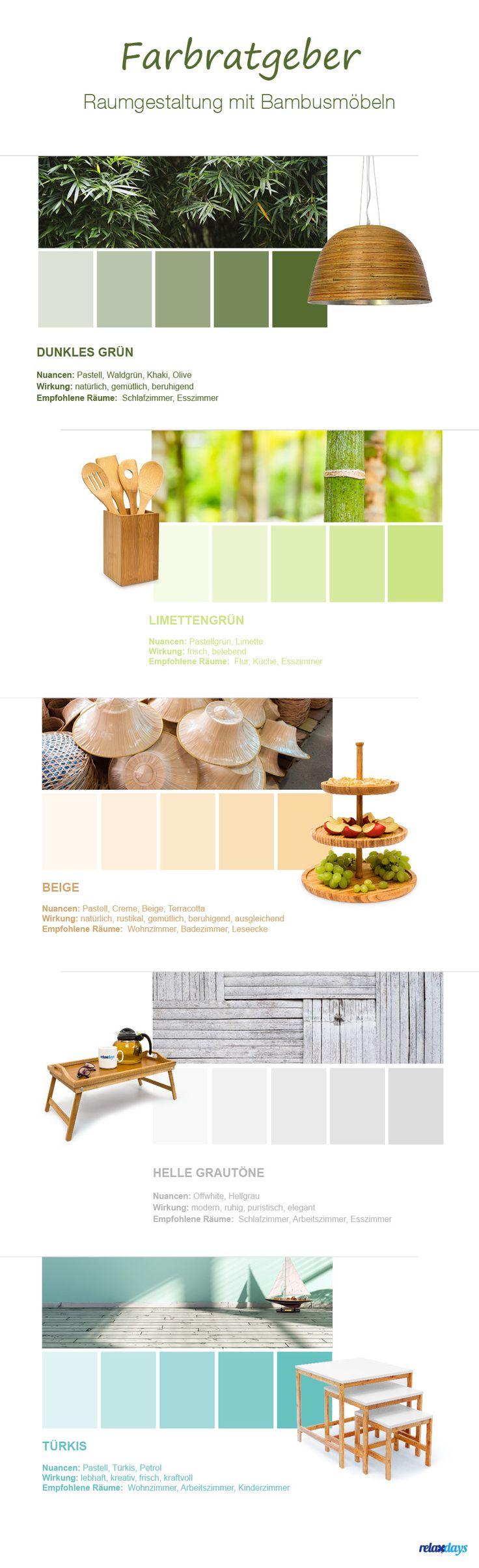 Wie kombiniert man Bambusmöbel? Tolle Farben für euer Zuhause! Die Möbel dazu könnt ihr hier kaufen: https://relaxdays.de/bambusmoebel