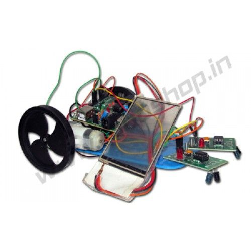 Touch Screen Controlled Robot