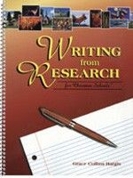 Covers the whole process of research writing in any discipline. Showing how to document printed and electronic sources, it gives patterns and full examples for current MLA style (4th ed.), used in English and other humanities, and current CBE style, used especially in the biological sciences and adaptable for other sciences. Two of the topics in the chapter on science writing are the organization for scientific paper and the science fair poster or display. Grade 7-12.