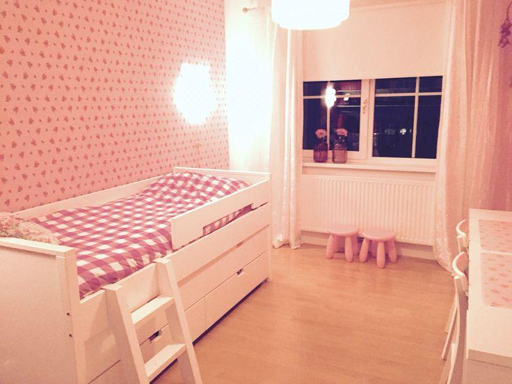 24 beste afbeeldingen van eigen huis - Slaapkamer kleur meisje ...