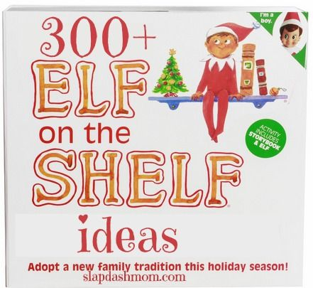 300+ Elf on the Shelf Ideas:  For next year!  God's blessing.