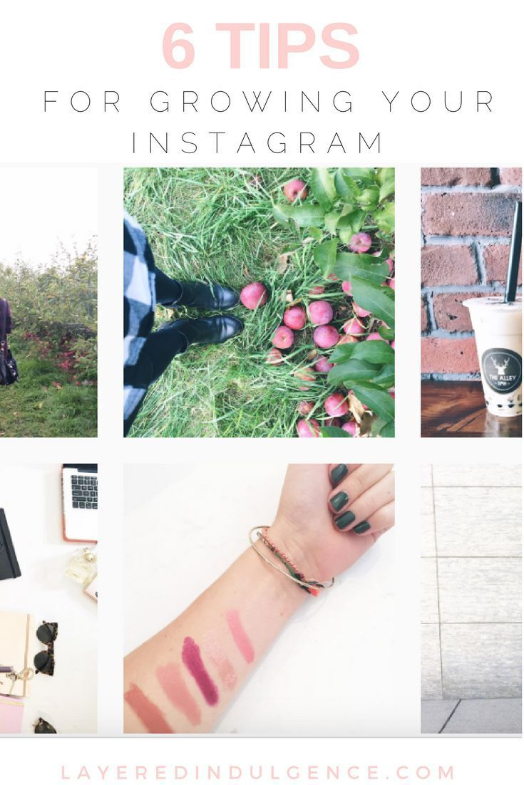 My 6 best tips on how to grow your Instagram followers! Are you stuck when it comes to getting followers on social media, and especially the medium of Instagram? Using the following 6 strategies, you'll learn how to get people over to your feed, grow your
