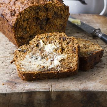 Super Bran, Date, Carrot and Banana Breakfast Loaf