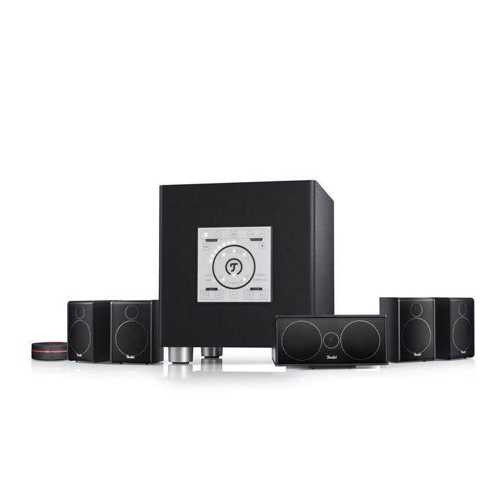 Lautsprecher Teufel Teufel Concept E Digital - 5.1-Komplettanlage mit Bluetooth für Konsole, Film und PC