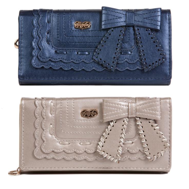 Leather Zip Around Wallet - LUCKY LADYBUG ZIP WALLET by VIDA VIDA uWeVgKr