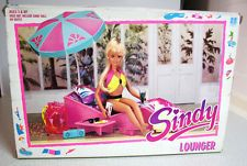 SINDY 1990 LOUNGER DAY IN THE SUN HASBRO VINTAGE