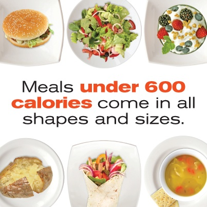 eight simple ways to 400 to 600 calorie meal recipes